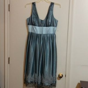 David's Bridal cocktail dress, size 16